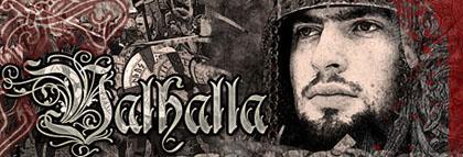 Banner skupiny Valhalla