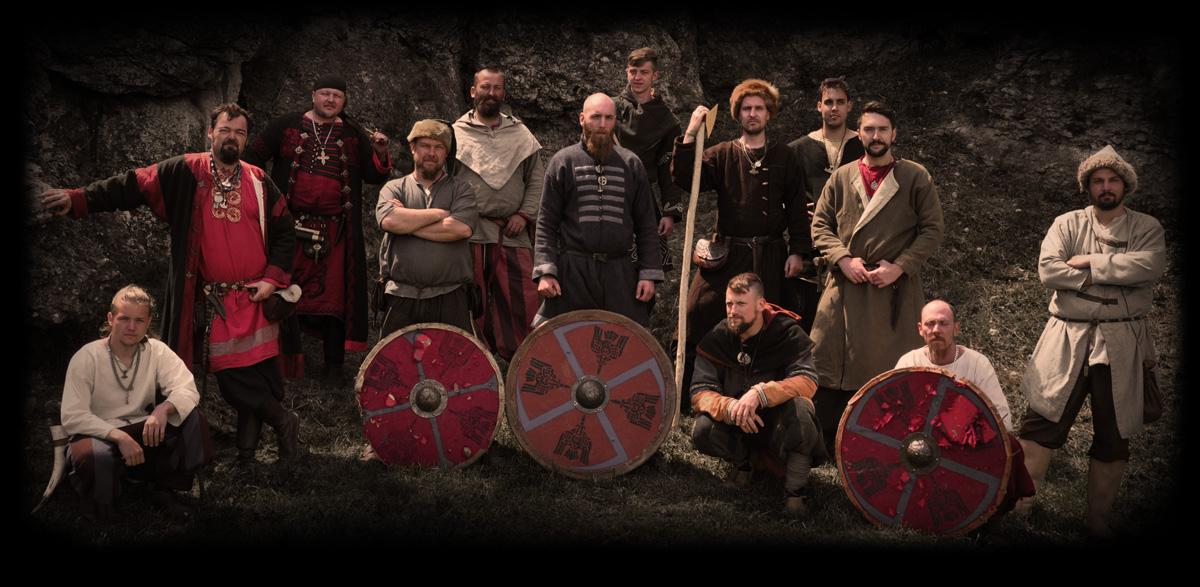 Skupinová fotografie bojové skupiny Sigurd